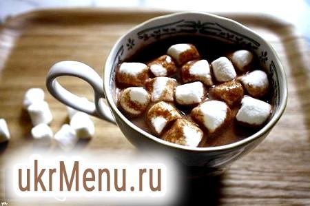 Рецепти з маршмеллоу: какао, кава і мастика