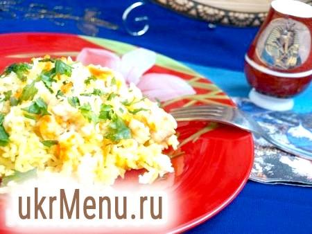 Рис з куркою в духовці