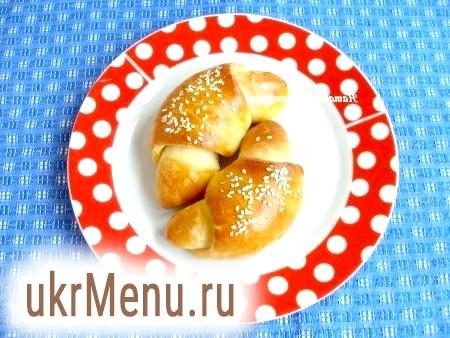 Рогалики з дріжджового тіста. Дріжджове тісто в хлібопічці