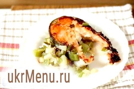 Риба в мультиварці. Форель з овочами