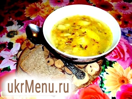 Рибний суп з пшоном