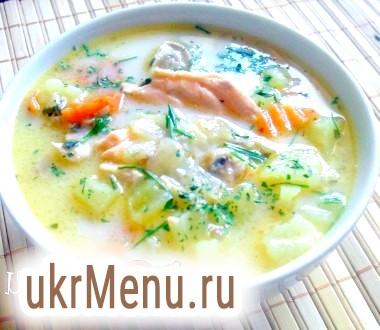 Рибний суп з вершками