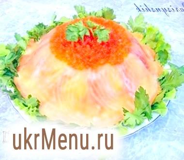Рибний торт
