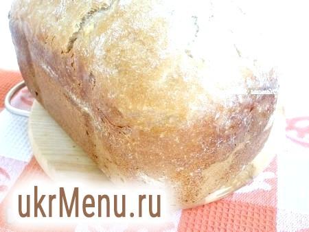 Житній хліб з цибулею в хлібопічці