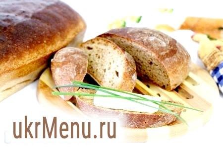 Житній хліб в духовці