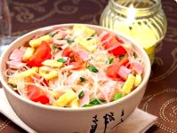 Салат фунчоза рецепти приготування з фото