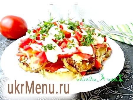 Салат з баклажанів з сиром