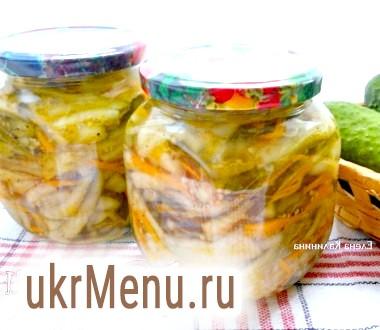 Салат з огірків по-корейськи на зиму
