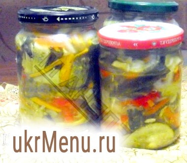 Фото - Салат з огірків з болгарським перцем