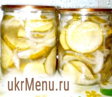 Салат з огірків з цибулею на зиму