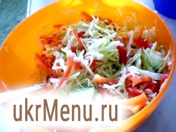Салат капустяний