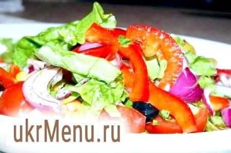 Салат овочевий без майонезу