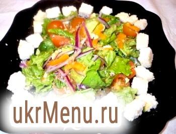 Салат овочевий зі спаржею