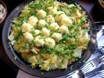 Салат перепелине гніздо рецепт з фото