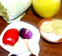 Фото - Крок №1 - Продукти для салату.