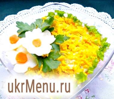 Салат з грибами