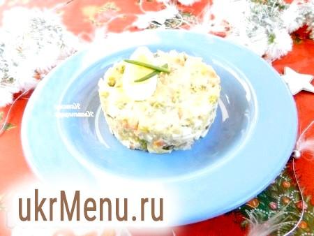 Салат з тунцем і картоплею