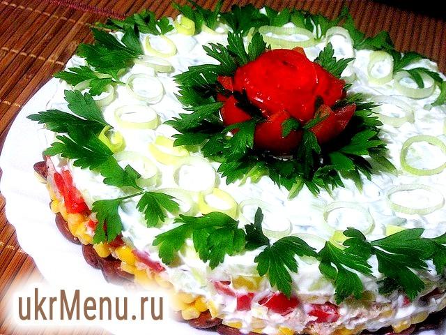 Салати з тунцем консервованим рецепти приготування
