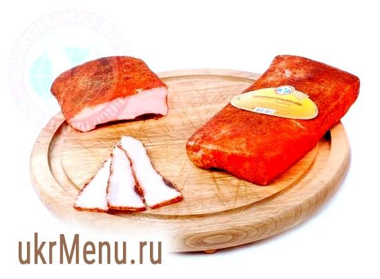 Сало з червоним перцем