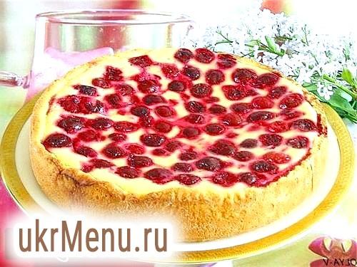Самий ароматний і смачний пиріг з вишнею - кращі рецепти з сиром і маскарпоне