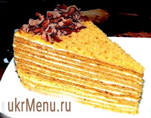 Найсмачніший медовий торт - рецепт з дитинства