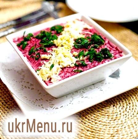 «Сьомга під шубою», рецепт салату