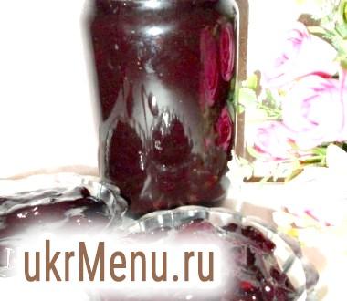Шоколадно-сливове варення