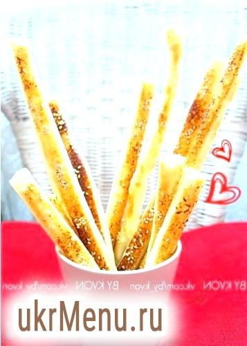 Листкові палички з кунжутом