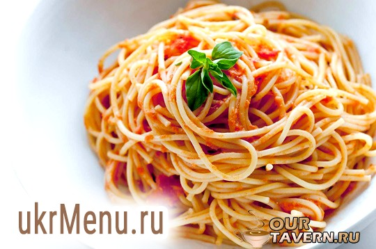 Спагетті з сиром
