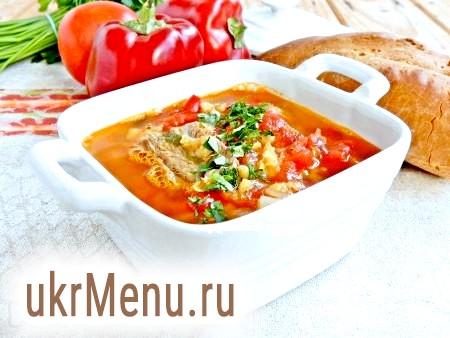 Суп з сочевиці з яловичиною