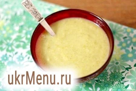 Суп-пюре з брокколі