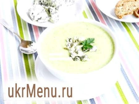 Суп-пюре з капусти брокколі