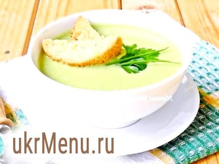 Суп-пюре зі шпинату з вершками