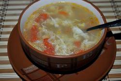 Суп з яйцем рецепт приготування з фото