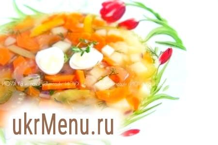 Суп з пшоном і яйцем