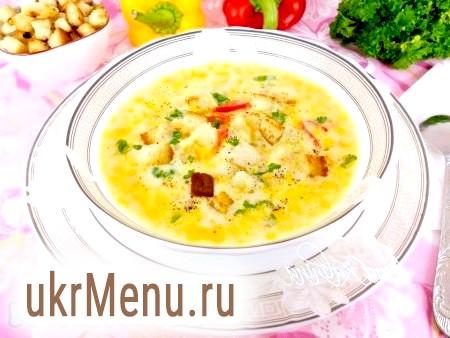Суп із сиром в мультиварці