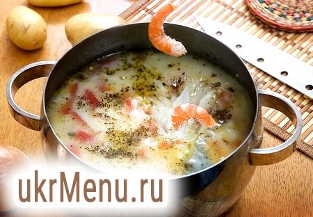 Супи з креветками рецепти пріготовенія з фото на Віва вумен