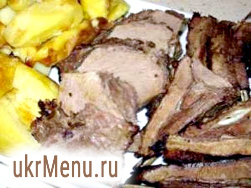 Свинина, приготована як кабаняче м'ясо