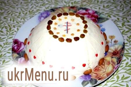 Сира сирна паска: традиційний рецепт