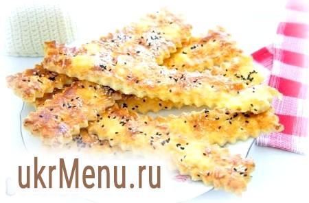 Сирні палички з листкового тіста