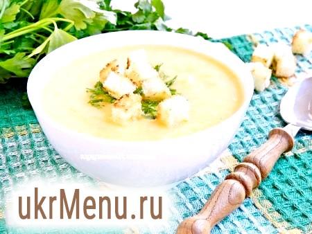 Сирний суп з цвітною капустою