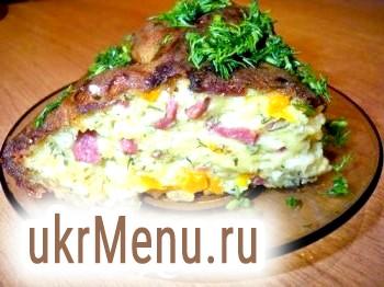 Сирний закусочний пиріг