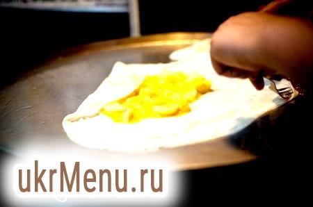 Тайські бананові млинці