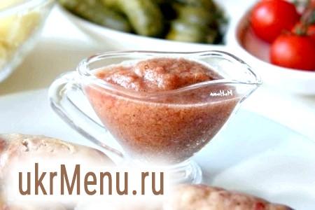 Томатний соус з імбиром