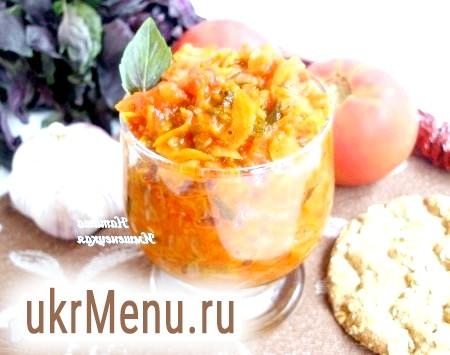 Томатний соус з овочами