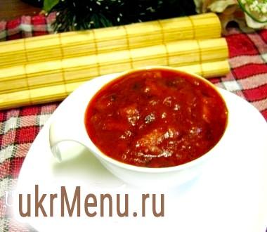 Томатний соус з вешенками