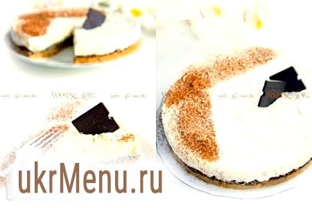 Торт з печива і шоколаду без випічки