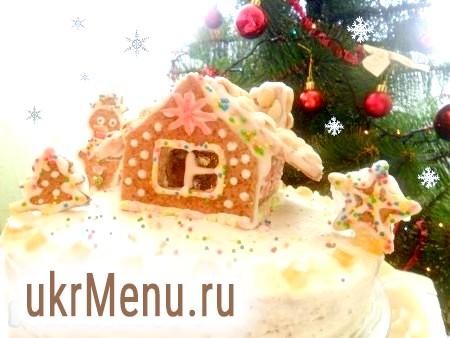 Торт «Казковий будиночок»