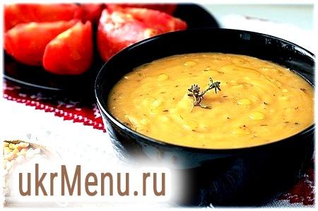 Традиційне блюдо російської кухні - горошницей