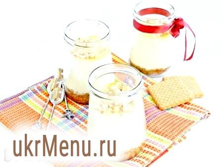 Сирний чізкейк з печивом